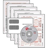 1099MICS Tax Forms, Envelopes & Software Kit, 40 Forms and 40 Envelopes